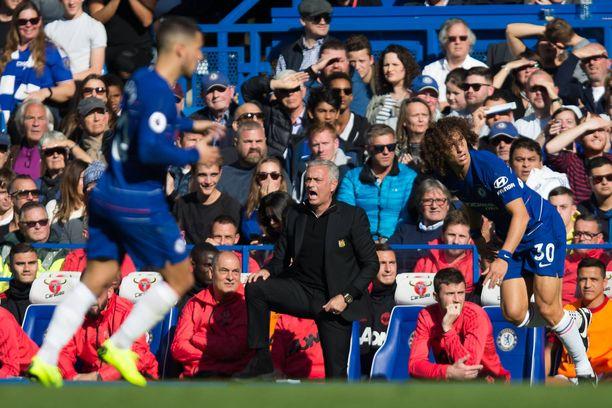 Jose Mourinho palasi vanhalle kotistadionilleen, eikä ilman kohua selvitty.