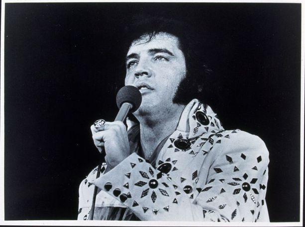 Elviksen kuolemasta tuli elokuussa kuluneeksi 41 vuotta. Kuva vuodelta 1973.