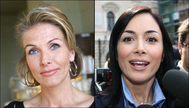 Euroopan kauneimmat ministerit ovat Tanja Karpela ja Mara Carfagna.