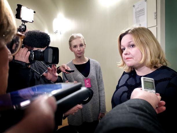Perhe- ja peruspalveluministeri Krista Kiurun (sd) mukaan hallituksen sisällä on päästy eteenpäin merkittävistä sote-linjauksista. Niistä on tarkoitus kertoa alkuvuodesta. Arkistokuva.