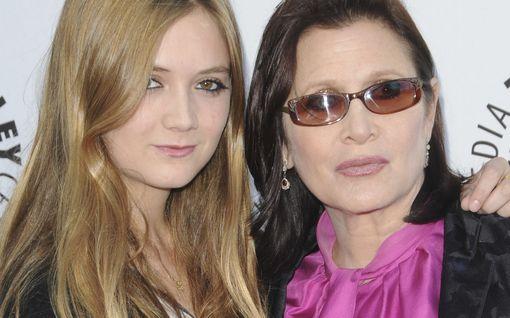 Carrie Fisherin tytär Billie Lourd sai vauvan tänä syksynä – muistaa nyt omaa äitiään nostalgisella kuvalla