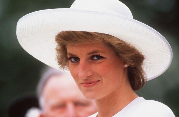 Prinsessa Diana keväällä 1989.