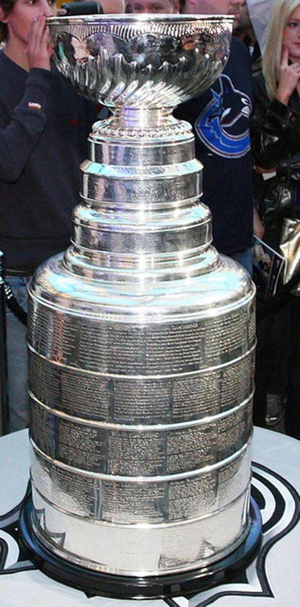 Stanley Cupia nosteli viimeksi ilmaan Pittsburgh Penguins kauden 2008-09 päätteeksi.