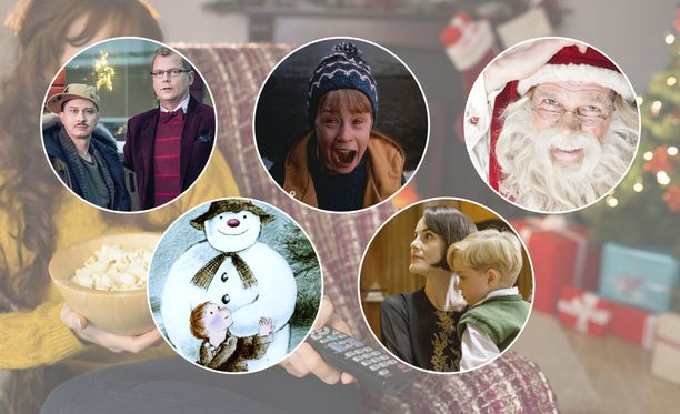 Joulun tv-tarjonta on tehty muun muassa näistä - ja kymmenistä muista - ohjelmista.