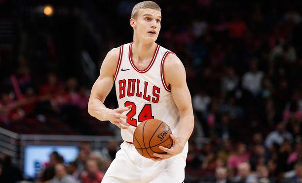 Lauri Markkanen harrasti nuorempana myös jääkiekkoa. Koripallo lienee silti ollut paras valinta NBA-uraansa aloittelevalle nuorukaiselle.