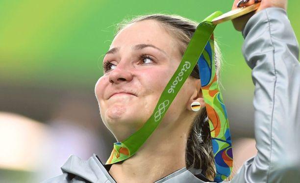Pyöräilyhuippu Kristina Vogel kertoi Der Spiegel -lehdessä halvaantuneensa vyötäröstä alaspäin.