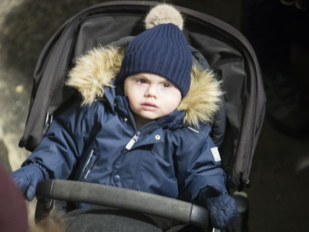 Oscar oli pukeutunut peliin Reima haalariin.
