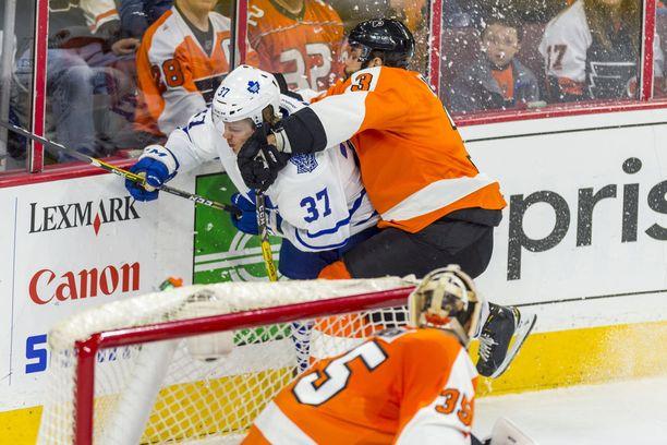 Viime kaudella Kasperi Kapanen pääsi haistelemaan NHL-vauhtia yhdeksän ottelun verran