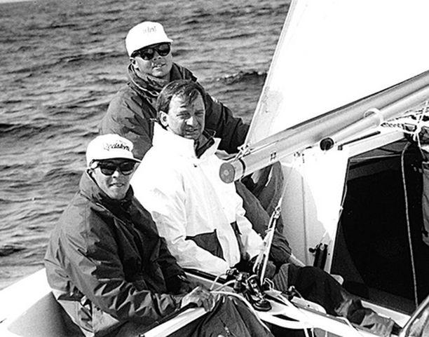 1993 Kolmikko H-veneiden MM-kisoissa Helsingissä.