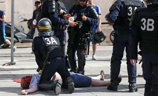 Yksi mies lyötiin tajuttomaksi Marseillen keskustasssa.