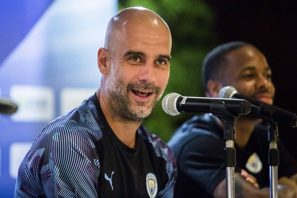 Pep Guardiola tunnustautui Teemu Pukin ihailijaksi.