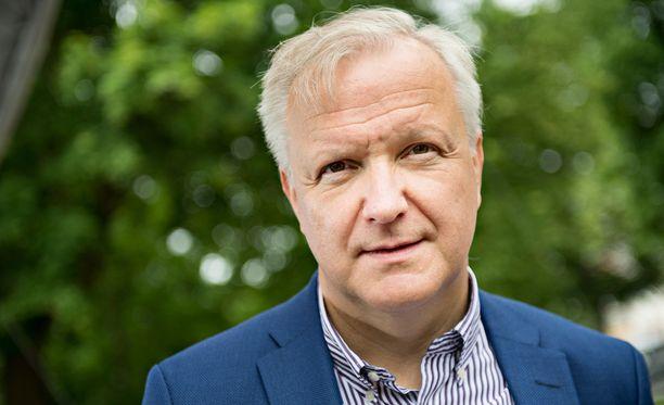 Hallitus esittää Olli Rehniä Suomen Pankin pääjohtajaksi.