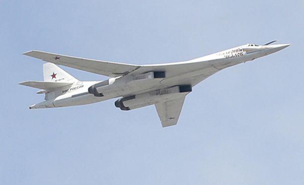Tupolev 160 -pommikone.
