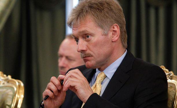 Kohu Dimitri Peskovin ympärillä jatkuu yhä.