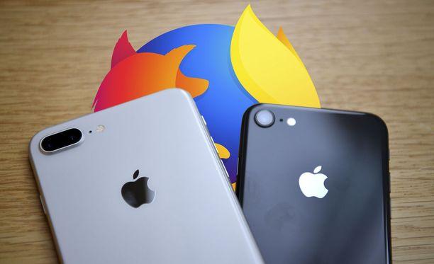 Mozilla parantaa tietoturvaa IOS-käyttäjillä.