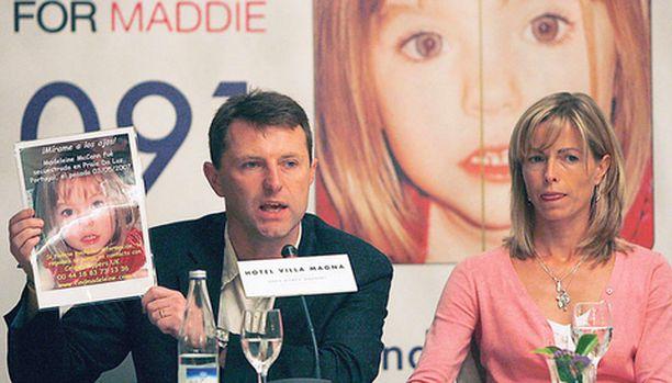 Madeleinen vanhemmat eivät ole luopuneet toivosta pienen tyttärensä löytymisen suhteen.