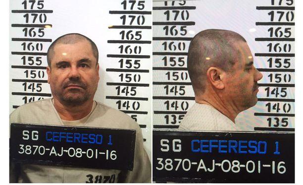"""Joaquin """"El Chapo"""" Guzman syö koiran maistamaa ruokaa."""