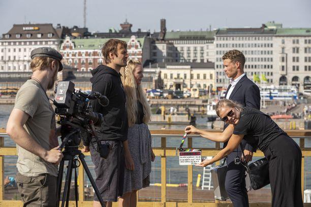 Ota rahat ja juokse -ohjelman toista tuotantokautta kuvattiin kesällä Helsingissä.