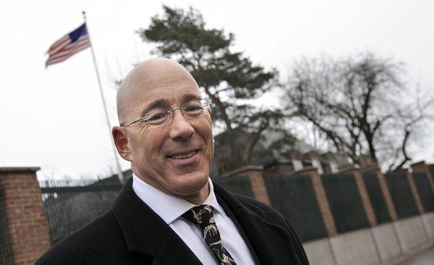 Bruce Oreck on jäänyt Suomeen asumaan suurlähettiläskautensa päätyttyä.