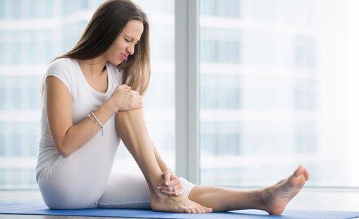 Suonenveto jalassa voi olla hyvin kivulias.