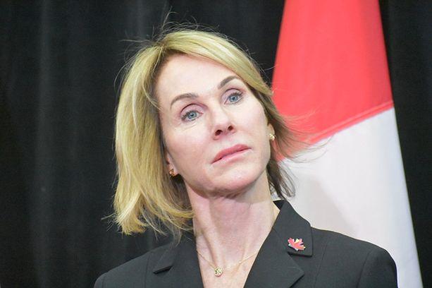 Nykyinen Yhdysvaltain Kanadan-suurlähettiläs Kelly Craft.