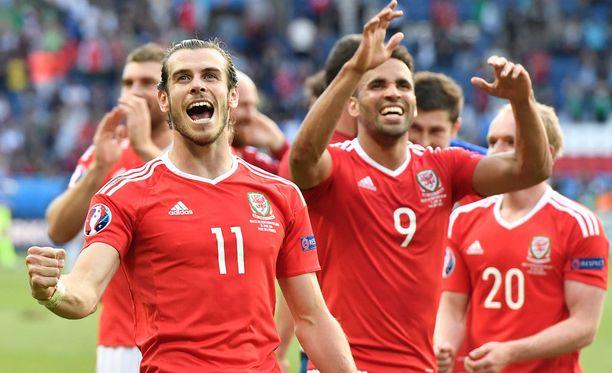 Gareth Bale ja kumppanit kohtaavat seuraavaksi Belgian.