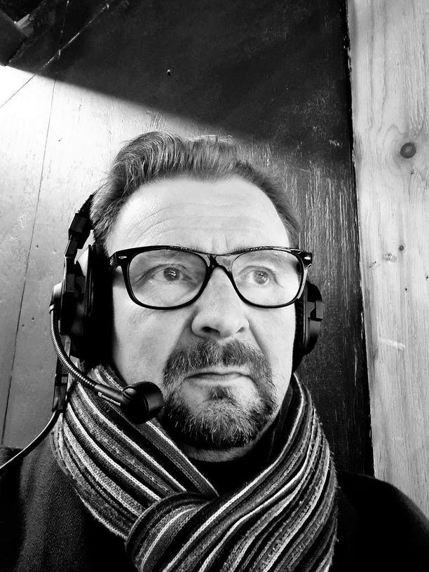Risto Leino on ollut Rauman Lukon kiekkoääni yli 20 vuotta.