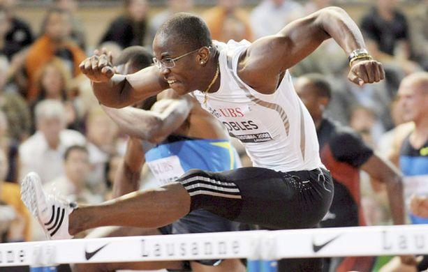 Dayron Robles voitti 110 metrin aitojen olympiakultaa Pekingissä.