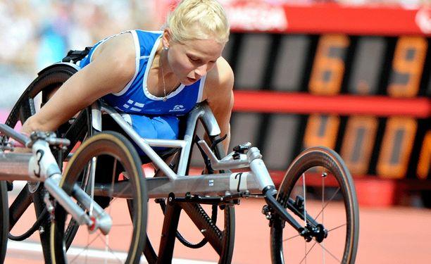 Amanda Kotaja kelasi kultaa Swansean EM-kisoissa.