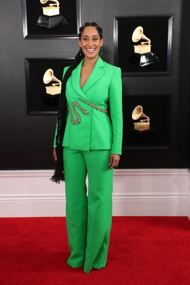 Tracee Ellis Ross  lukeutuu Hollywoodin parhaimpiin pukeutujiin.