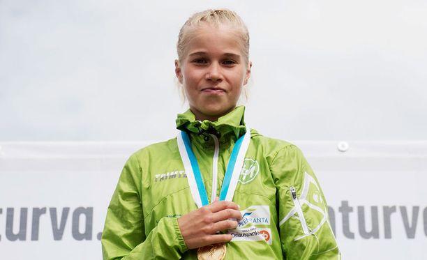 Alisa Vainio täyttää marraskuussa 18 vuotta.