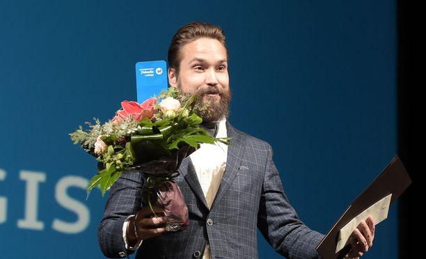 Jukka Viikilä voitti Finlandia-palkinnon teoksellaan Akvarelleja Engelin kaupungista.