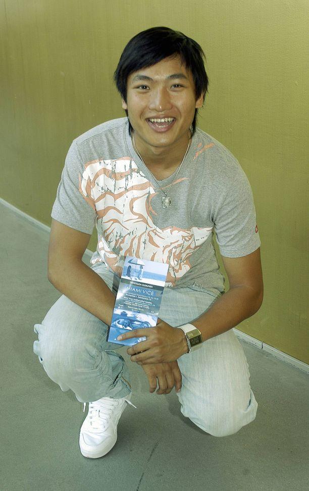 Roni Tran muistetaan Idolsin toiselta kaudelta. Kuva vuodelta 2006.