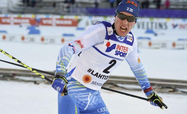 Matti Heikkinen oli viides maailmancupin kokonaiskilpailussa.
