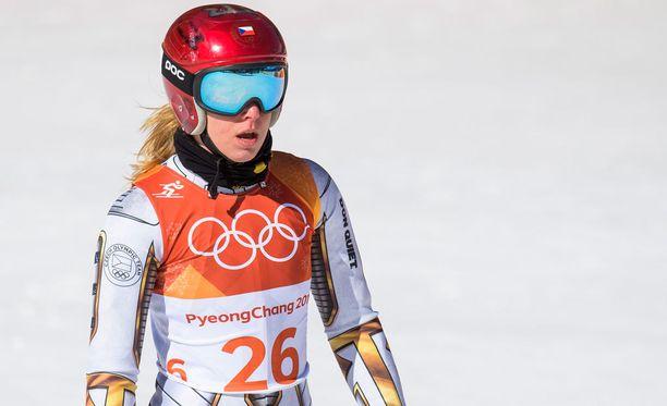 Ester Ledeckalla meni pitkään ennen kuin hän uskoi voittaneensa olympiakultaa.