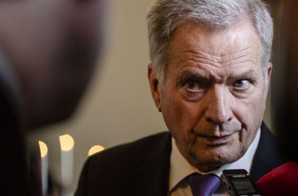Presidentti Sauli Niinistö otti voimakkaasti kantaa koronatestien laajentamisen puolesta,