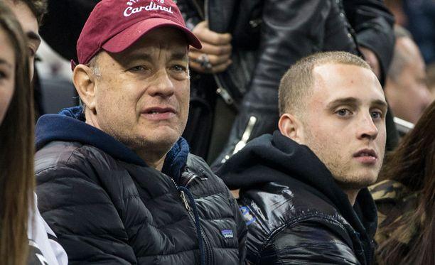 """24-vuotias Chester """"Chet"""" Hanks on toiseksi nuorin Tom Hanksin neljästä lapsesta."""