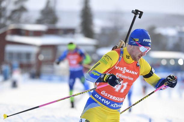 Jesper Nelin oli viikonloppuna Östersundin MM-kisoissa pikakisan 41:s ja takaa-ajon 33:s.