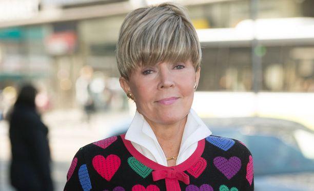 Helena Petäistö sai aivoinfarktin.