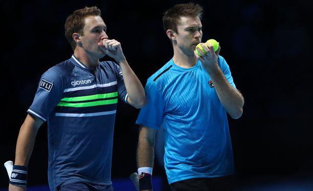 Henri Kontinen ja John Peers pelasivat hyvän turnauksen Roland Garrosissa.