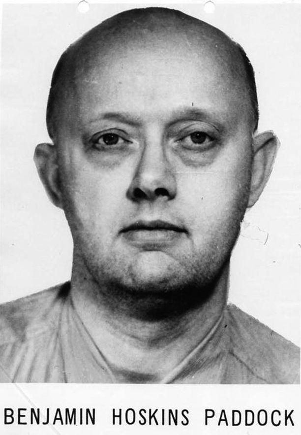 Benjamin Paddock ryösteli pankkeja 1960 luvulla ja oli vankilasta karattuaan FBI:n etsintäkuulutettujen listalla.