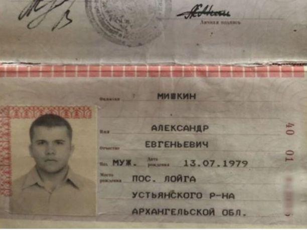 Alexander Mishkinin passi.