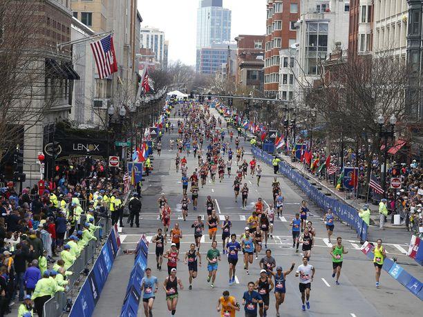 Bostonin maratonille osallistui yli 500 kiinalaista.