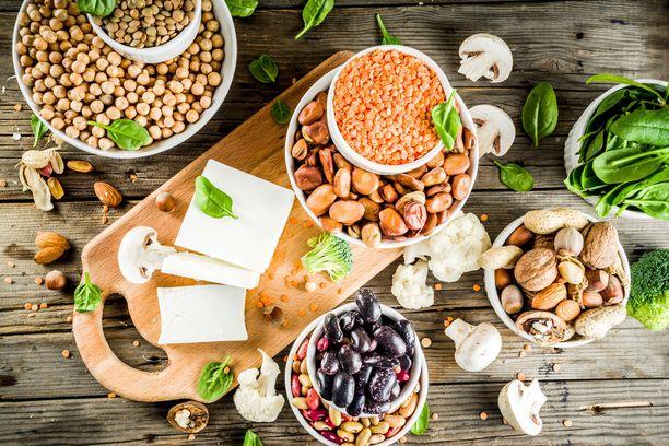 Perinteisten kasviproteiinien, kuten linssien ja soijarouheen suosio on tasaista.