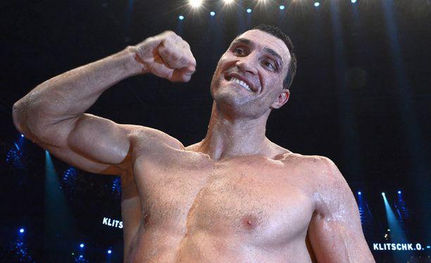 Vladimir Klitshko tuuletti voittoaan.