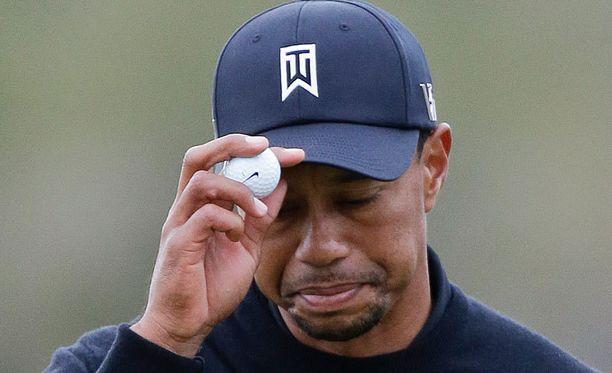 Tiger Woodsilla ei kulkenut.