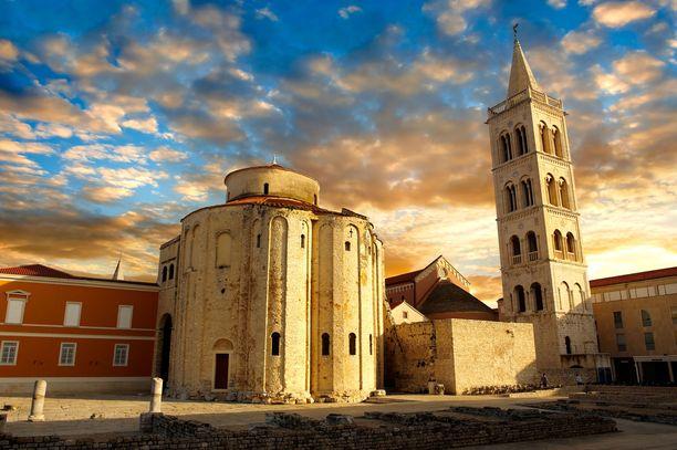 Zadaristakin löytyy historiallisia nähtävyyksiä.