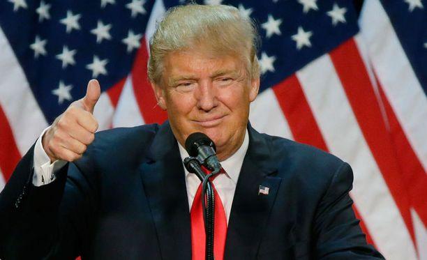 Donald Trump on republikaanien presidenttiehdokas.