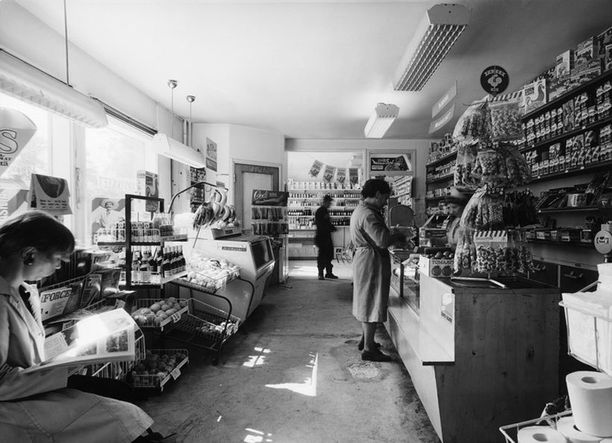 Pasilankatu 3, Hopeavuoren myymälä vuonna 1971