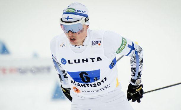 Hannu Manninen pääsee suurmäen yksilökilpailuun.